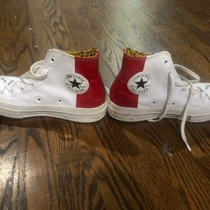 Converse leathers shoes size 7